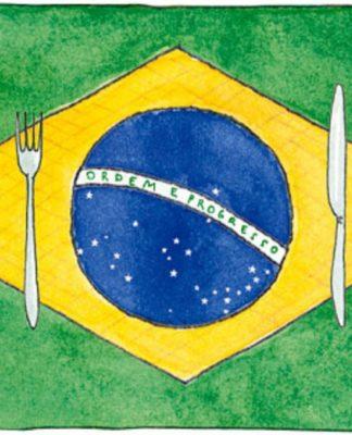 Тренды столовой посуды в Бразилии